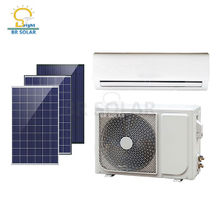 Climatiseur solaire hybride On / Off Grid